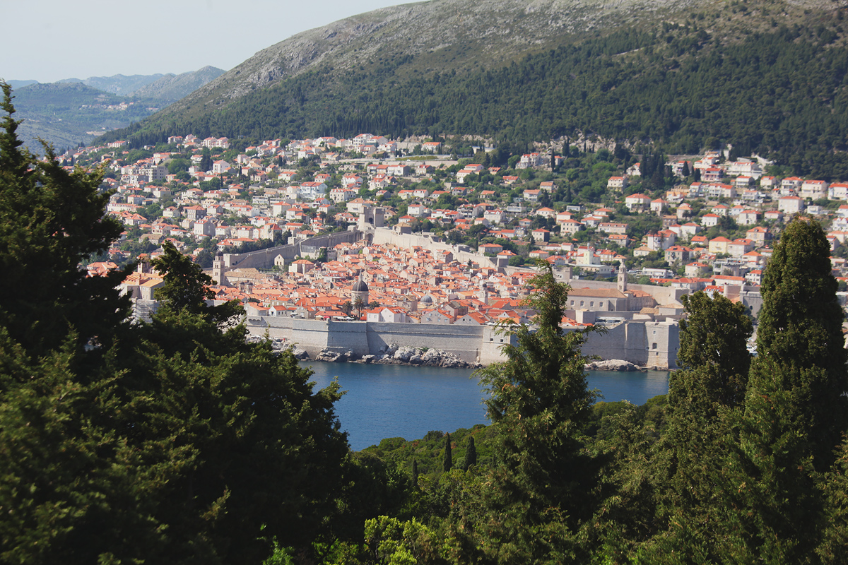 View of the old Dubrovnik Games of Thrones