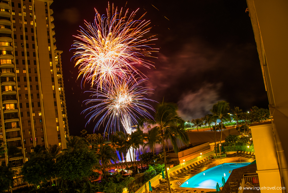 Fireworks in Hawaii