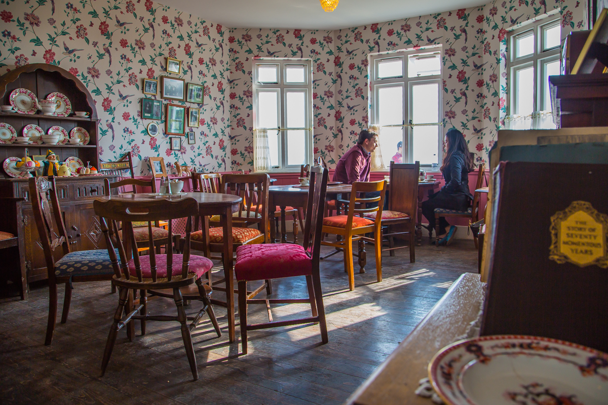 Lighhouse tea house interior