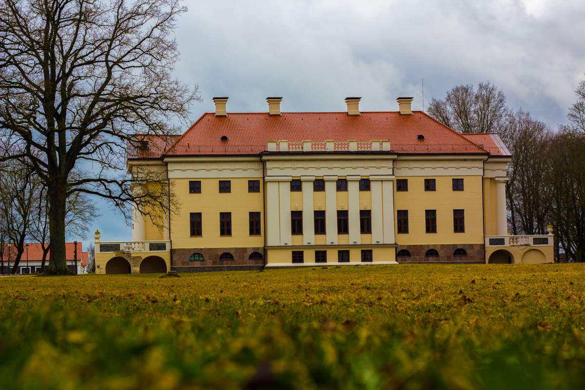 Pakruojis Manor - the biggest manor in the Baltics