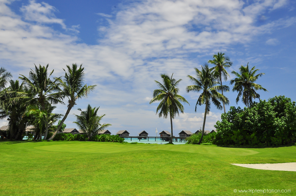 golf resorts on maldives