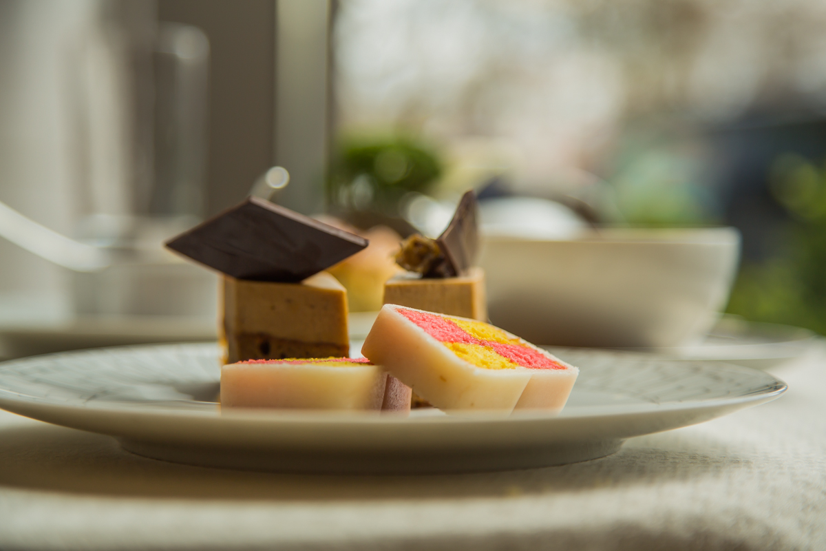 exquisite  desserts only at Wellington Lounge afternoon tea