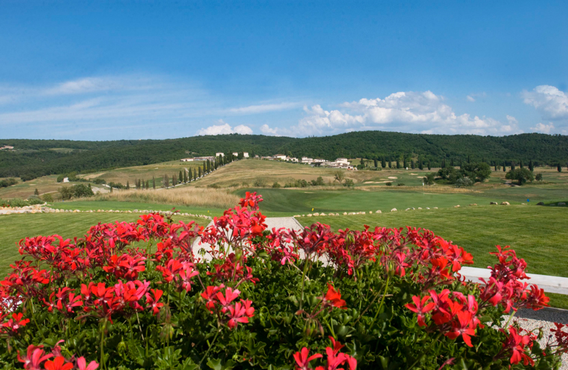 La Bagnaia Resort, Tuscany, best views in Italy