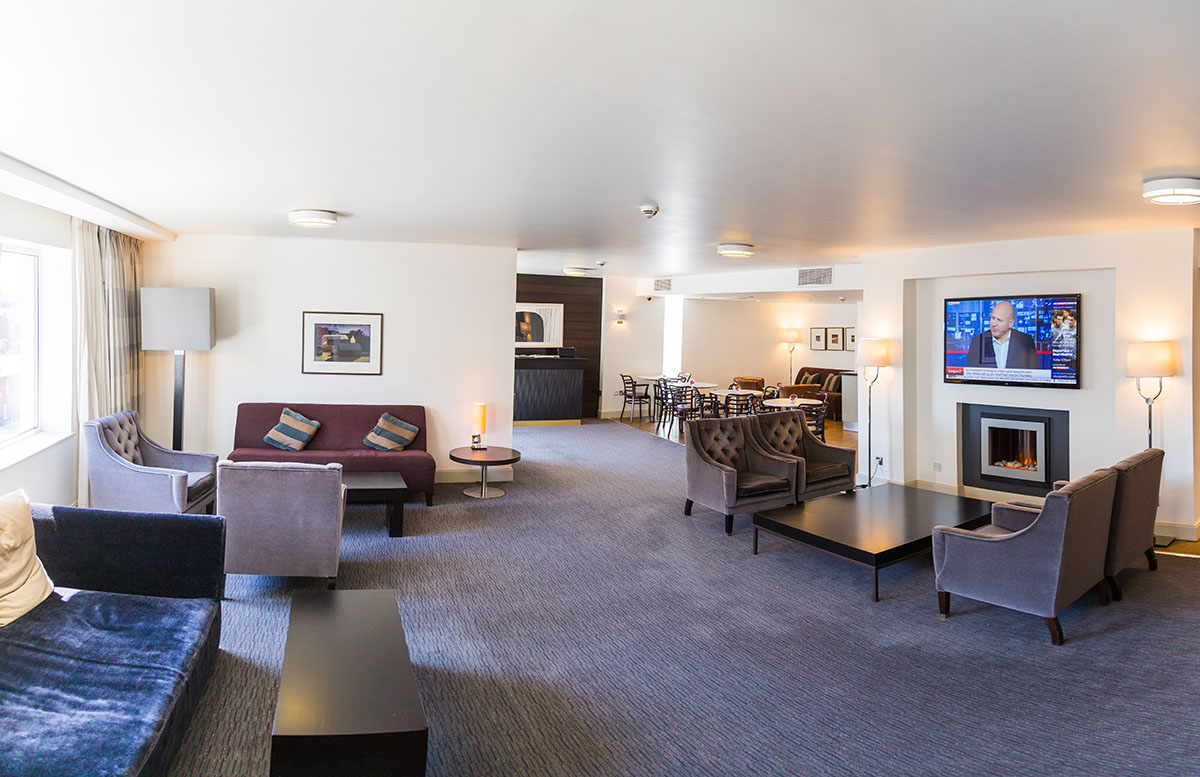 The Croke Park Hotel inside view