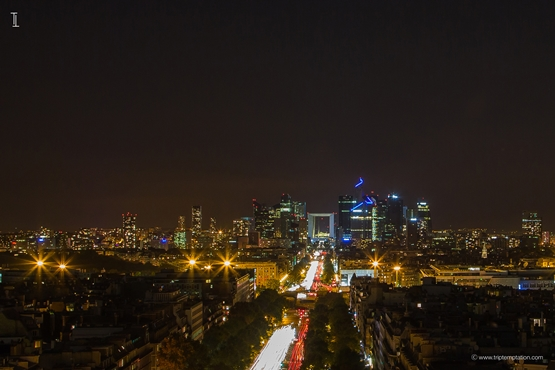 La Defense skyline wallpaper