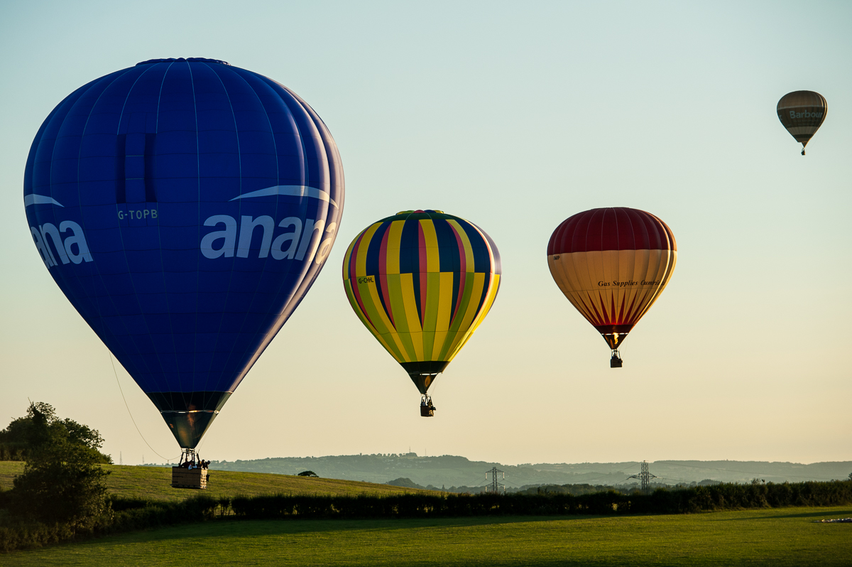 37th International hot air balloon in Bristol