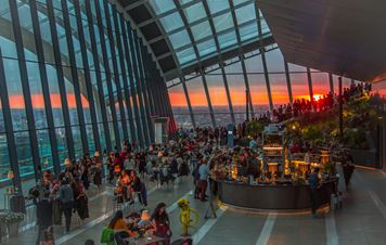 The Sky Garden: Welcome to the Highest Gardens in Europe