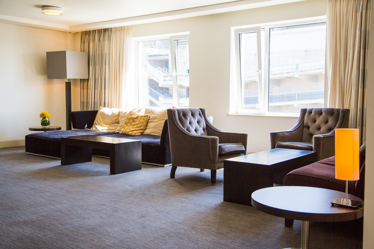 The Croke Park Hotel lounge