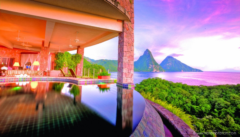 Jade Mountain, St. Lucia, The Carribian
