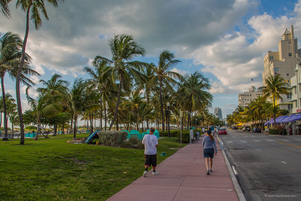 Miami beach district