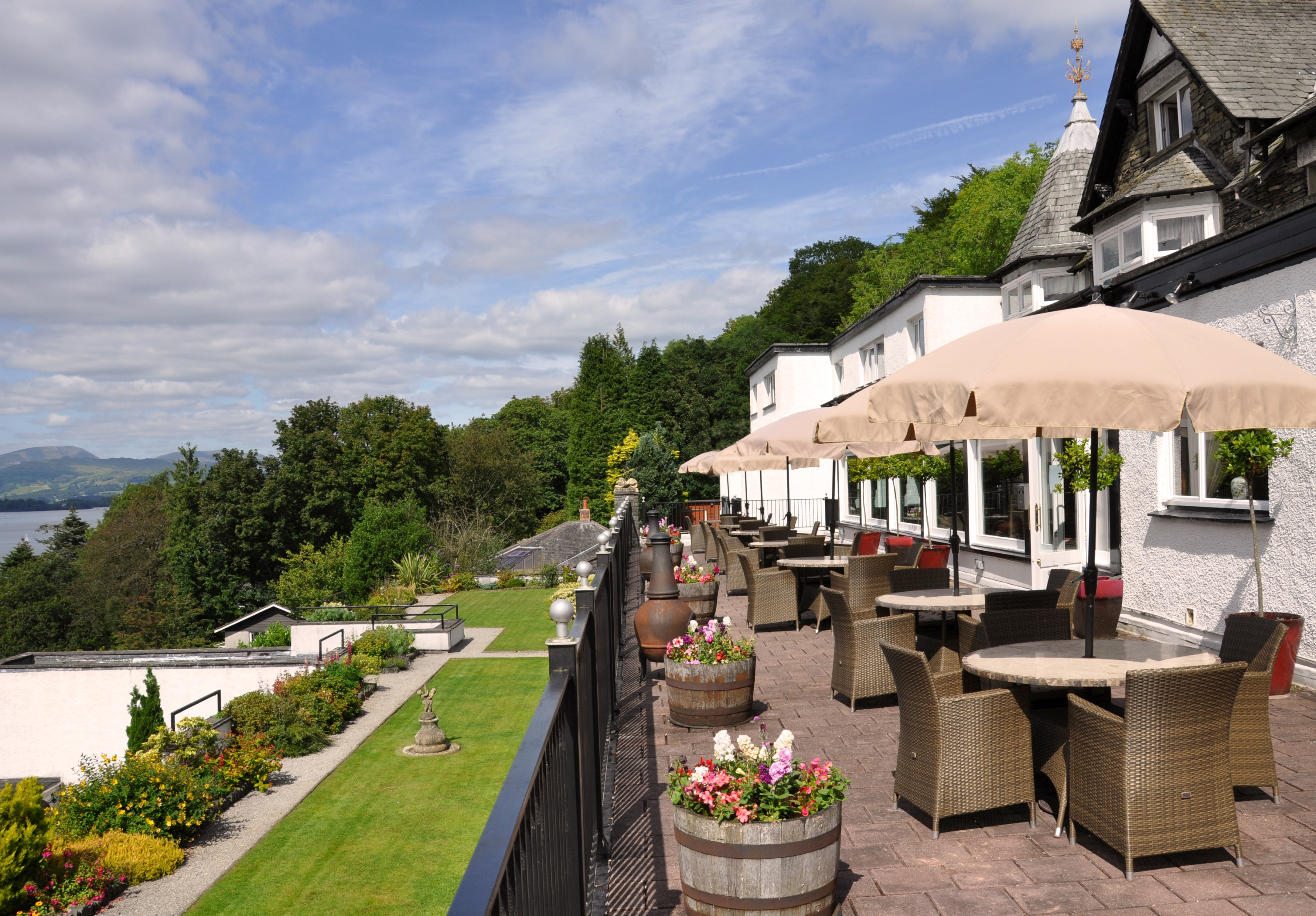 Beech Hill Hotel Terrace