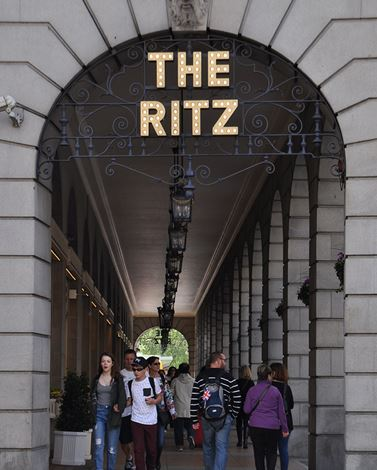The Ritz London Green Park side