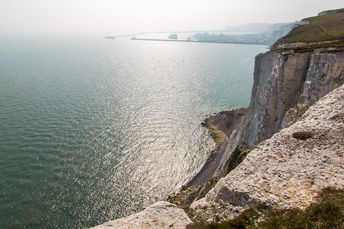 Landscape White Cliffs of Dover