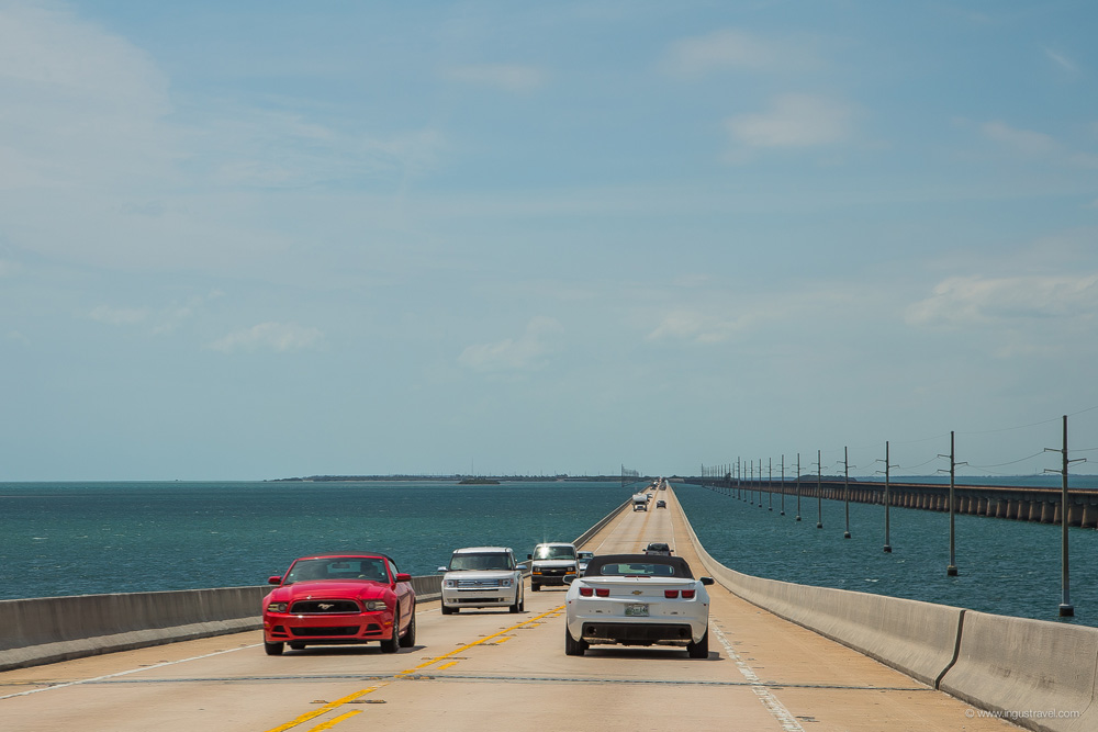 Endless beautiful road to Key West