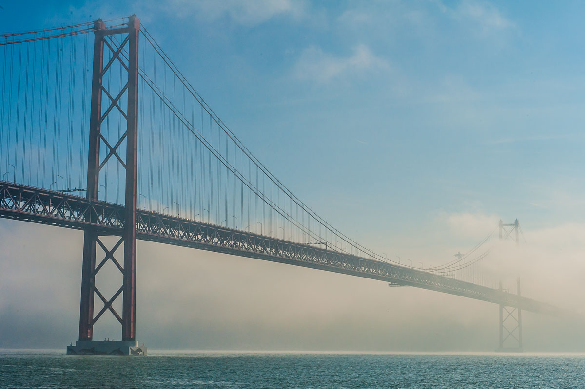 Salazar Bridge Lisbon brother Golden Gate