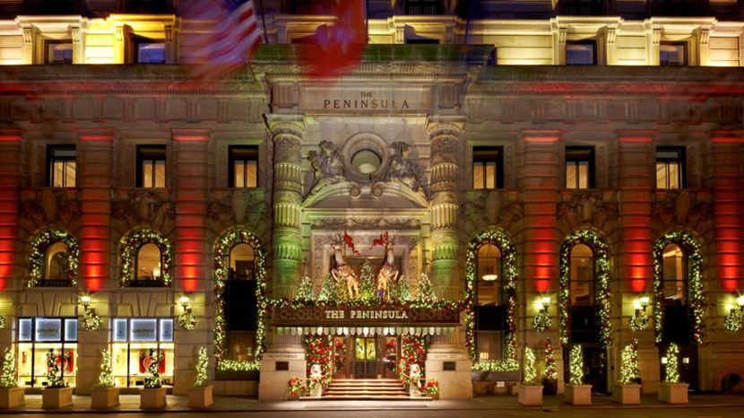 Find Peninsula hotel in New York