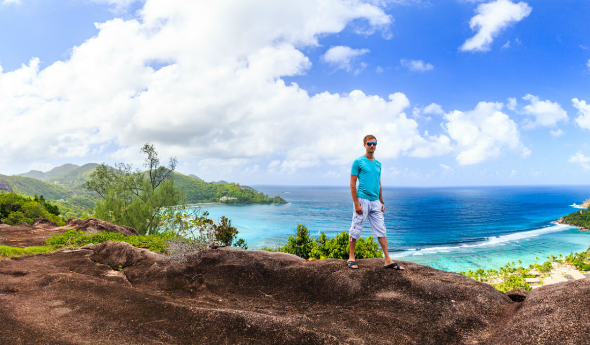Adventurous Seychelles hiking