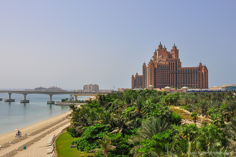 Dubai Atlantis hotel The Palm Jumeirah