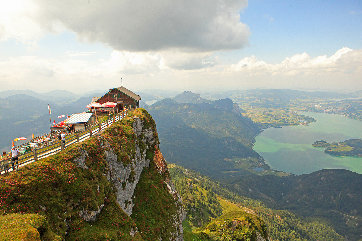 Shafberg Mountain in Austria