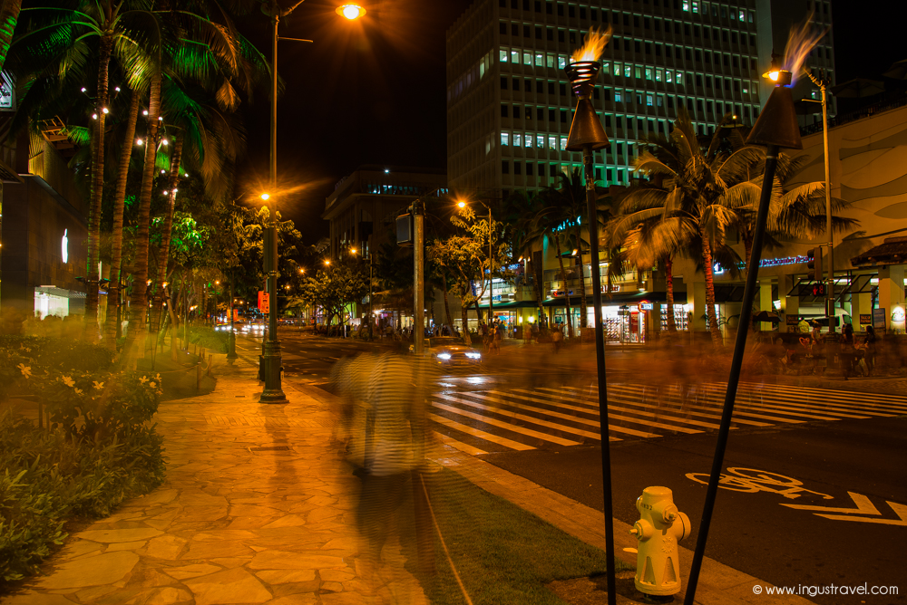 Night life in Hawaii