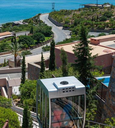 Luxury hotel in Crete