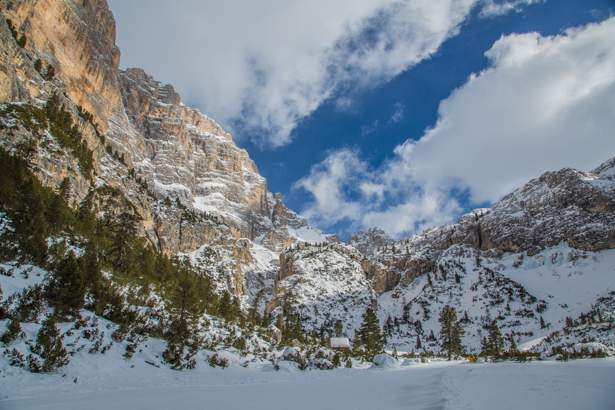 Amazing mountains in Cortina near Venice