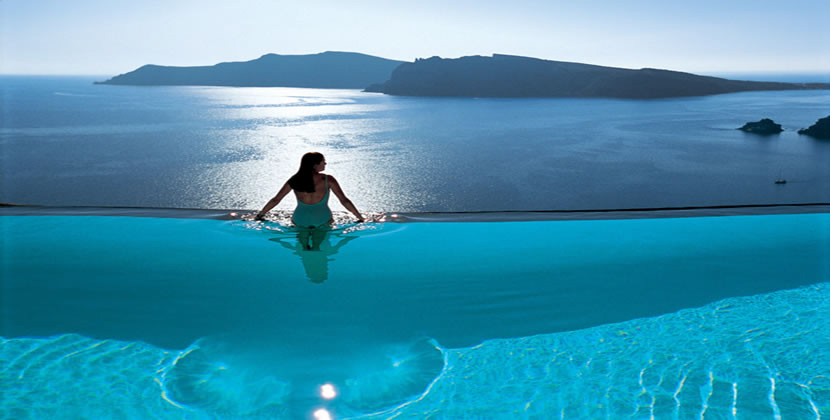Santorini, Greece, best hotels on santorini