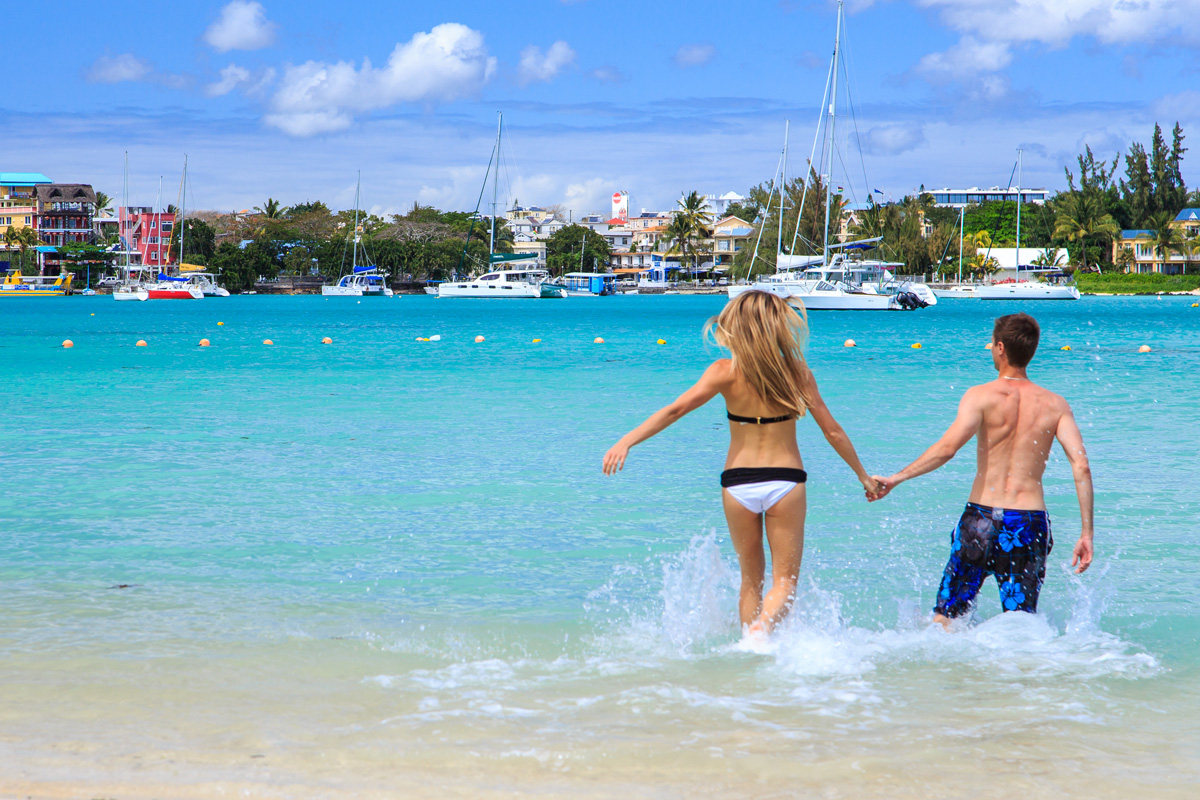 Crazy vacation on Mauritius island