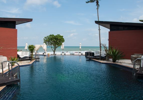 Aava resort pool Thailand