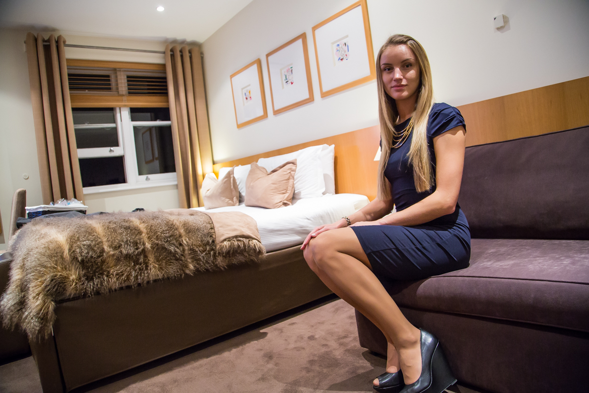 girl Nadler Kensington bed london