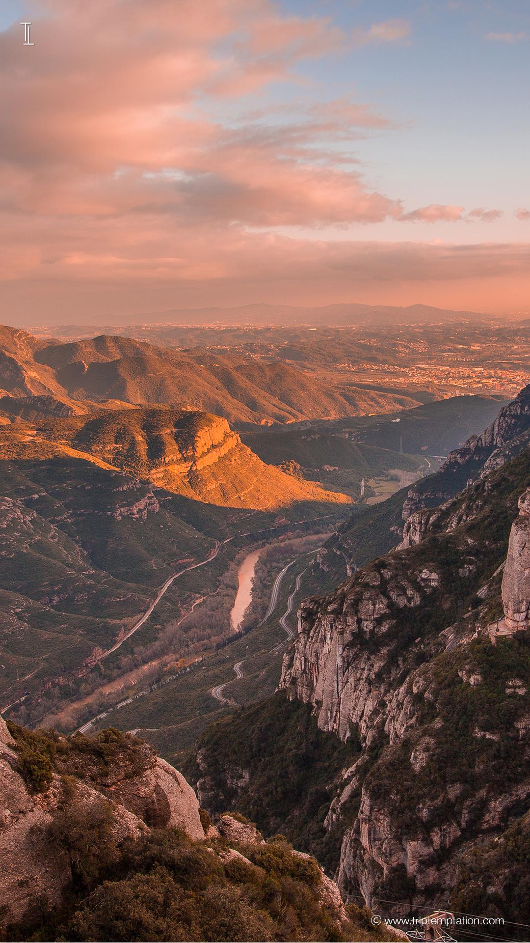 Download Sunset In Monserrat IPhone 6 Plus