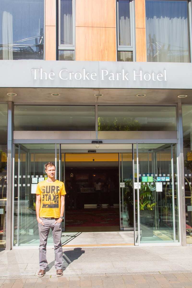 The Croke Park Hotel outside