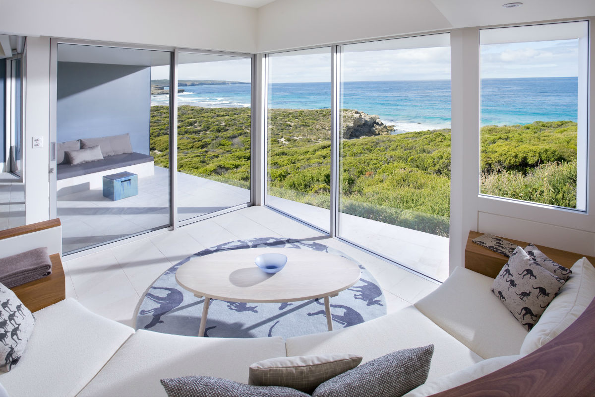 Amazing Southern Ocean Lodge suite view