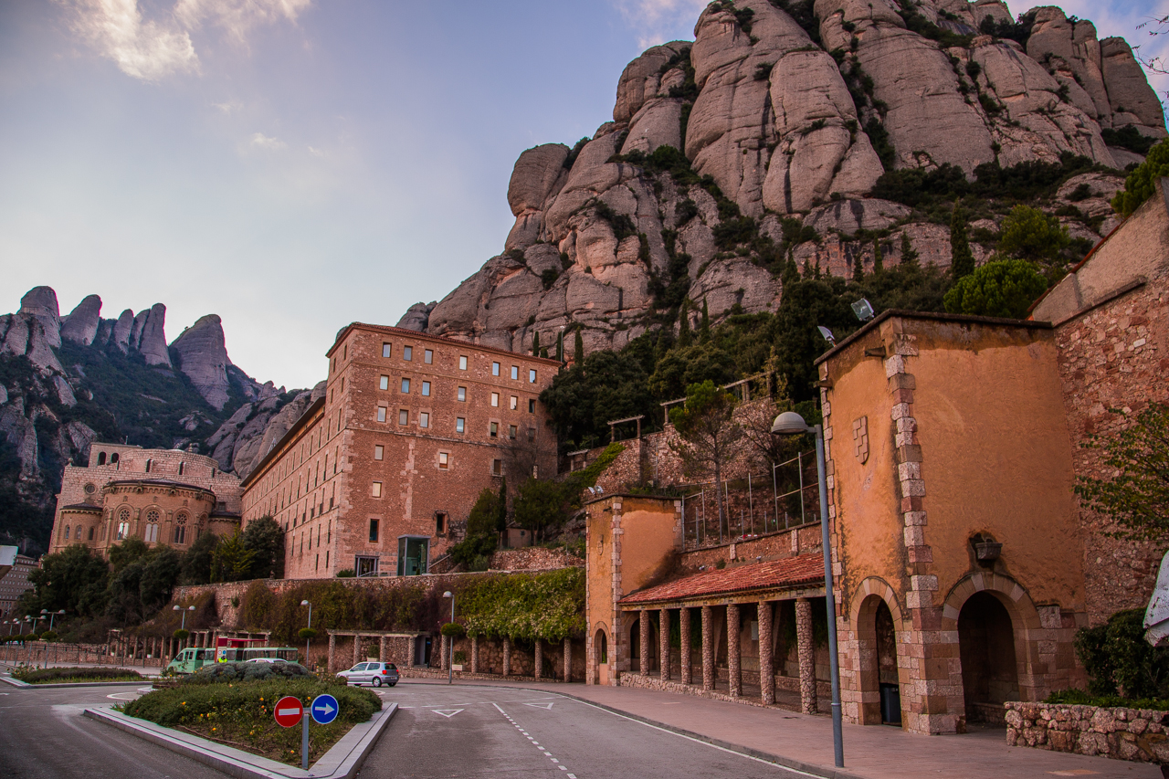 Monserrat mountain Spain