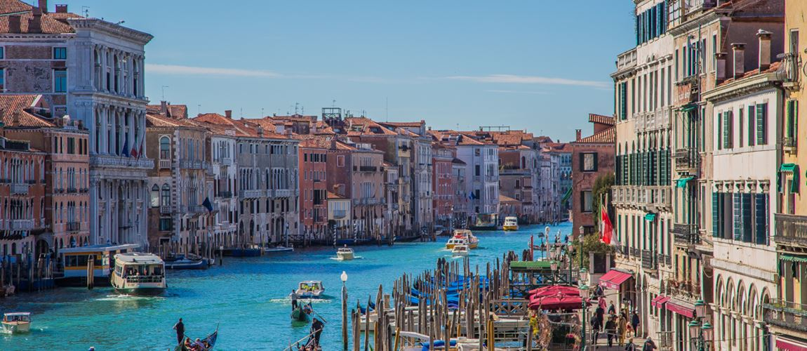 Enjoy the beautiful Venice channels