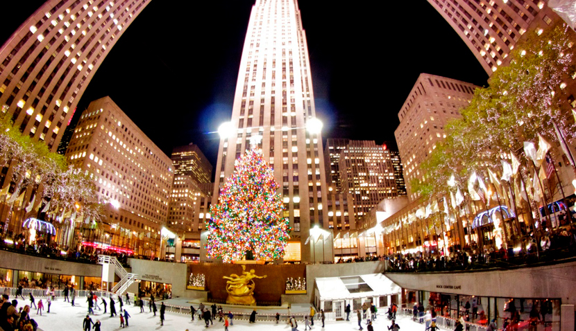 Celebrate Christmas in new York