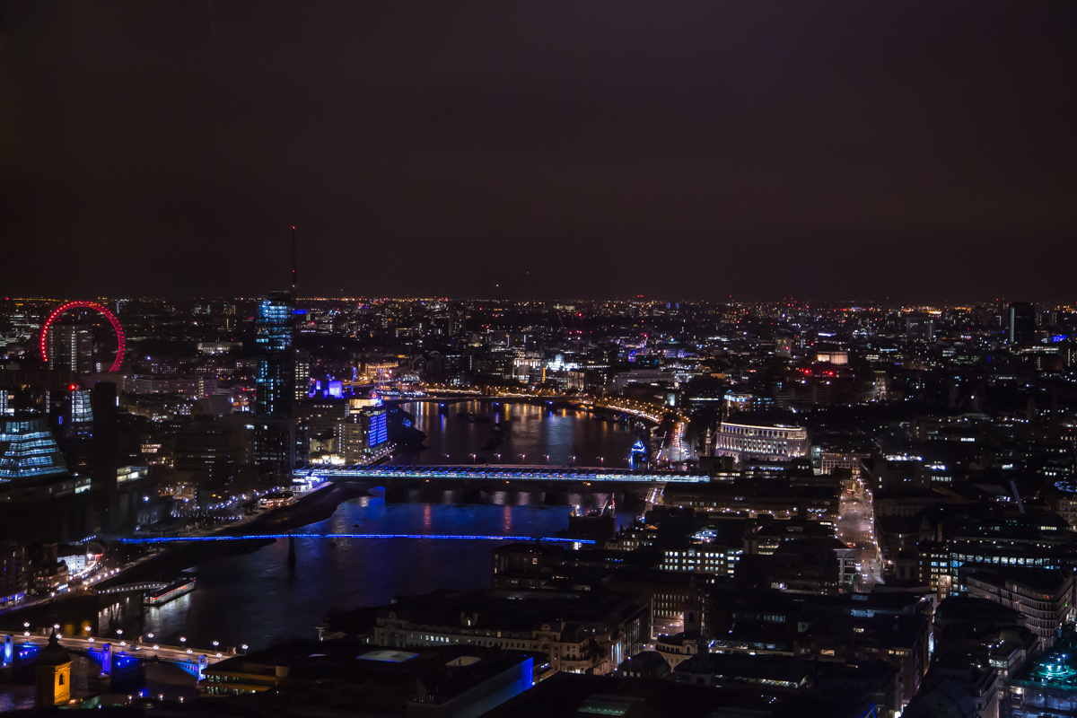 best night London view