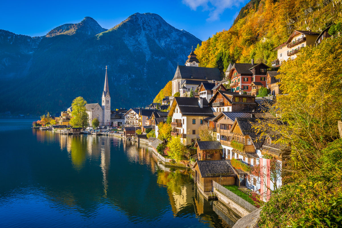 Hallstatt Mountain village