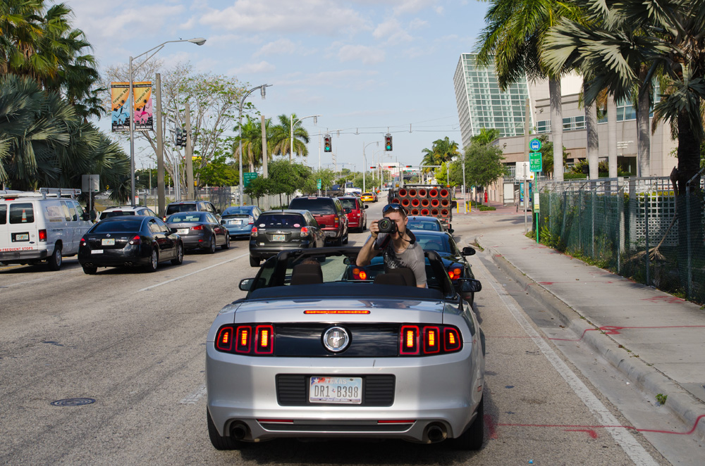 Convertables in Miami